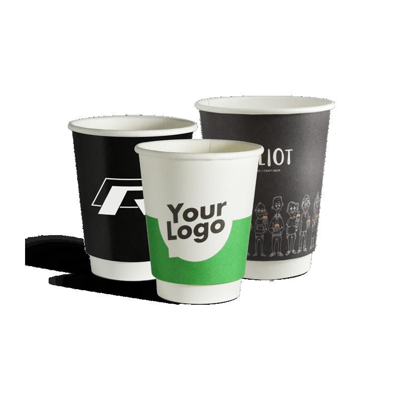 Dobbeltlags papkrus med dit logo tryk