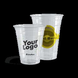 Plastikkrus med logo–6 trykfarver