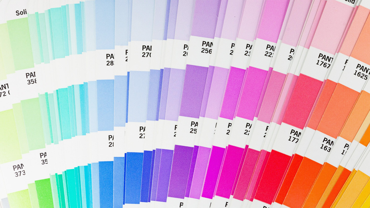 pantone colors fane rainbow